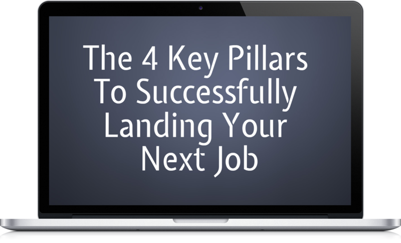 Free Course - 4 key pillars to Successfuly Landing Your Next Job